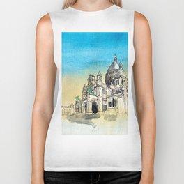 Basilica Sacre Coeur Montmartre Paris Biker Tank