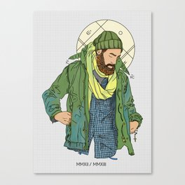 Jesus from New York Canvas Print