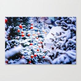 Christmas Idyll Canvas Print