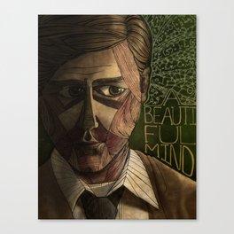 A Beautiful Mind Canvas Print