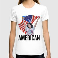 american T-shirts featuring American by Brandon Gendron