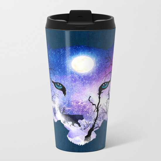 Spellbinding Metal Travel Mug