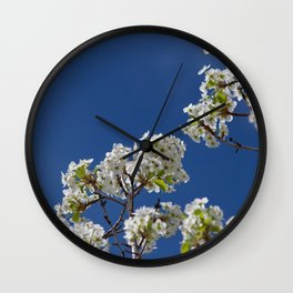 Spring Blossoms Wall Clock