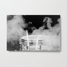 SMOKIN BEAT Metal Print