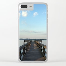 Saturday on the River Clear iPhone Case