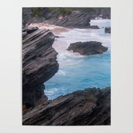 Bramuda Cliffside Poster