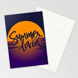 Orange Sunset (Summer Lovin') Stationery Cards