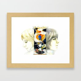 Brothers of the Magical Sapphire Framed Art Print