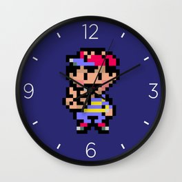 Earthbound Ness Wall Clock