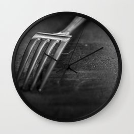 tine dining Wall Clock