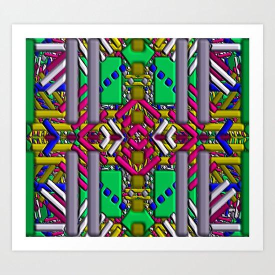 Southwestern Rug 1 Art Print