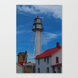 Whitefish Point Lighthouse III Canvas Print