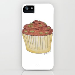 M is for Muffin iPhone Case