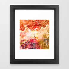 Breaking Away Framed Art Print