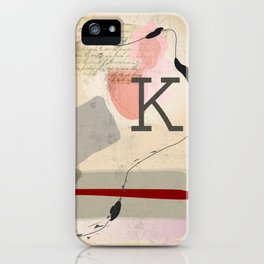 Letter to Felice iPhone Case