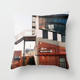Gents Throw Pillow