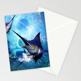 Marlin Stationery Cards