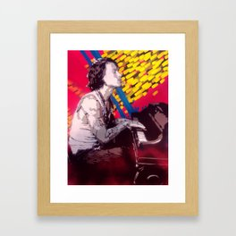 The Piano Man Framed Art Print