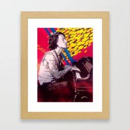 The Piano Man Framed Art Print