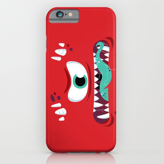 Baddest Red Monster! iPhone & iPod Case