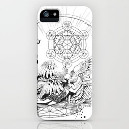 Seraphim Ninefold Ardour iPhone Case