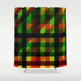Mage Sync Reflection Crypp Shower Curtain