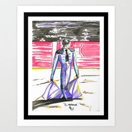 El Matador (Spanish bullfighter) Art Print