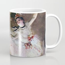DANCER WITH A BOUQUET OF FLOWERS - EDGAR DEGAS  Coffee Mug