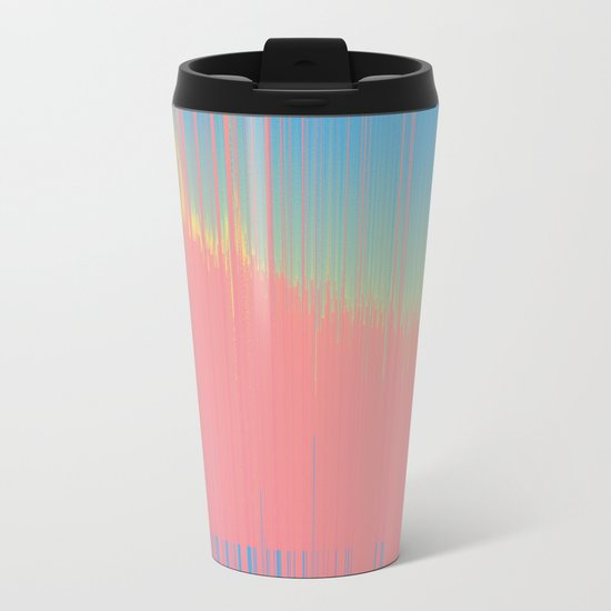 Hot 90's bckgrnd Metal Travel Mug