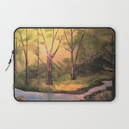 Sunny Forest Laptop Sleeve