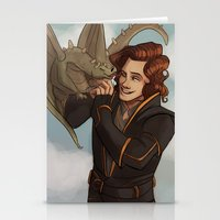 dungeons and dragons Stationery Cards featuring Dragons and Direction: Harry by invisibleinnocence