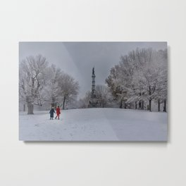 Boston Common, first show of the seson Metal Print