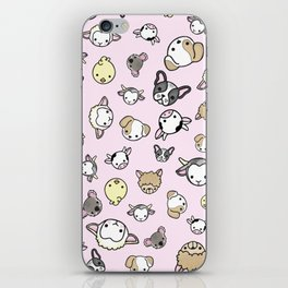 Pink Critter Collection iPhone Skin