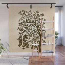 Fruit of the Spirit (Monotone) Wall Mural