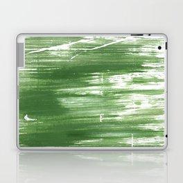 Fern green abstract watercolor Laptop & iPad Skin