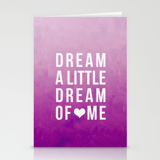 Dream II Stationery Cards