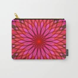 Pink,red and fuchsia color mandala Carry-All Pouch