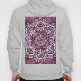 Mandala Mauve Colorburst Hoody