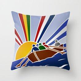 Palio Marinaro dell'Argentario 2012 Throw Pillow