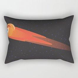 comet glance Rectangular Pillow