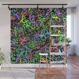 Tribal abstraction Wall Mural