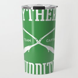 Hogwarts Quidditch Team: Slytherin Travel Mug
