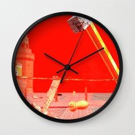 SquaRed: Making New Kind of Man Wall Clock