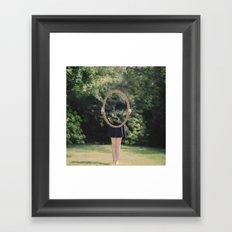 Transparency Framed Art Print