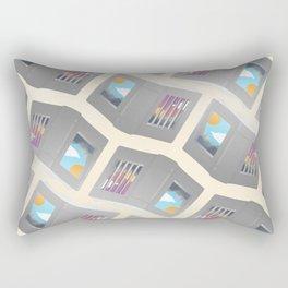Another Way to Be Free Rectangular Pillow
