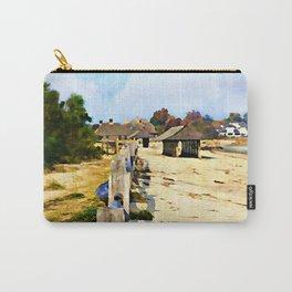 A Stroll Along The Beach Carry-All Pouch