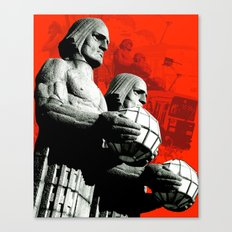 Stone Men of Helsinki Canvas Print
