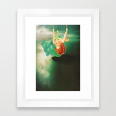 Hanging On Framed Art Print