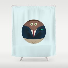 NEW YORK STORIES: GARGOYLES OF NY CHARACTERS #1 SEAN BROWN Shower Curtain
