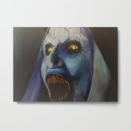 The  Nun Metal Print